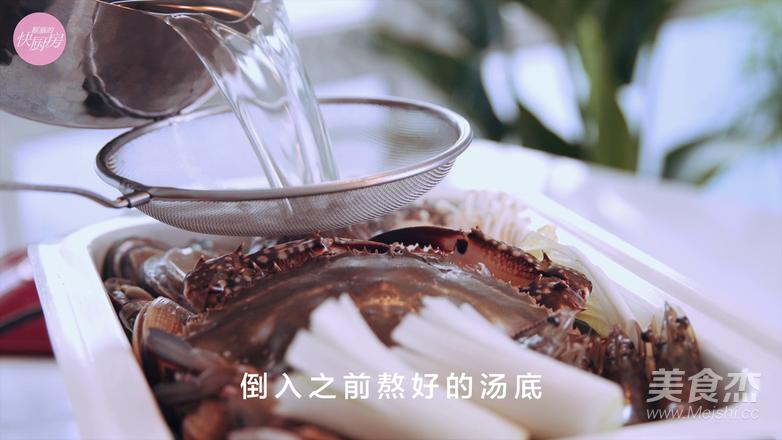 鲜的吞掉舌头的大满足海鲜锅怎样炒