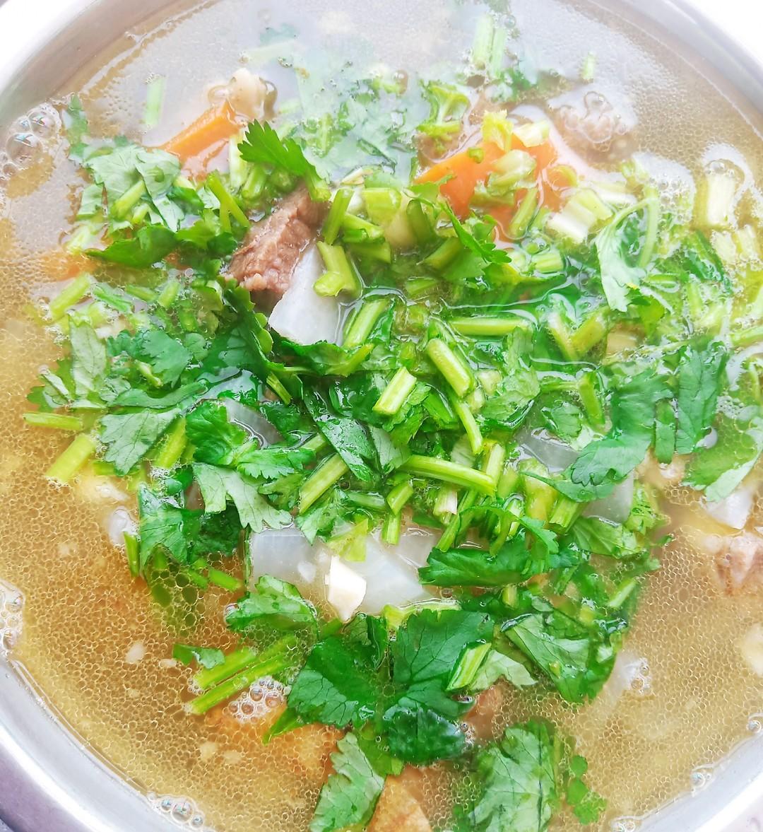 鲜香牛肉汤怎样煮