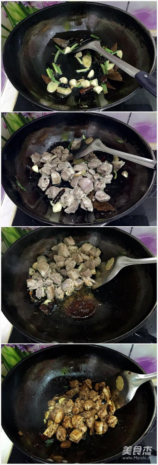 酱焖栗子羊肉怎么吃