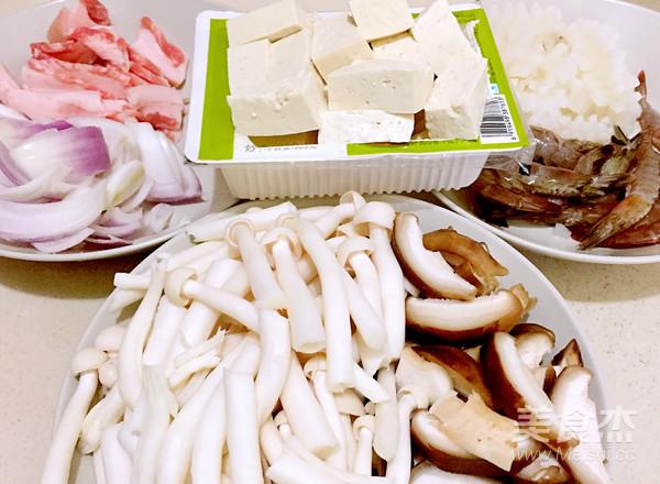 泡菜海鲜豆腐锅的做法大全