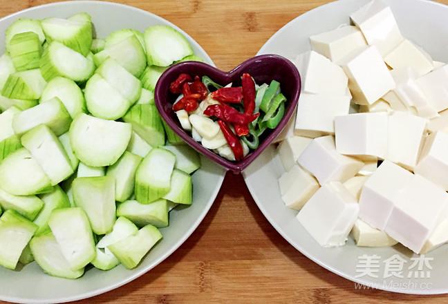 丝瓜炖豆腐的做法图解