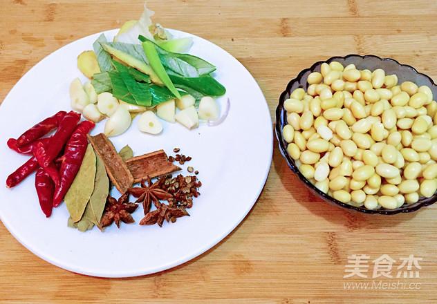 香辣猪蹄焖黄豆的做法图解