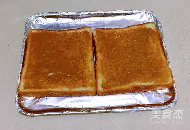 烤棉花糖土司的家常做法