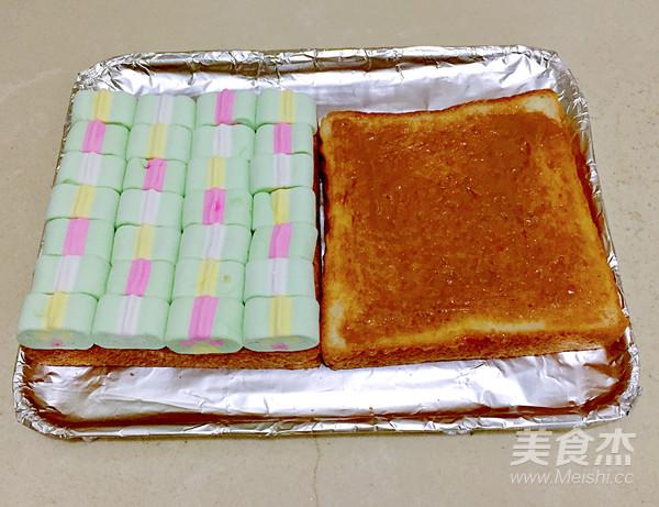 烤棉花糖土司的简单做法