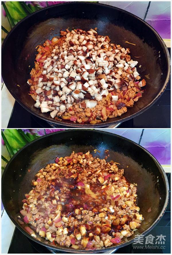 自制香菇肉末酱怎么吃