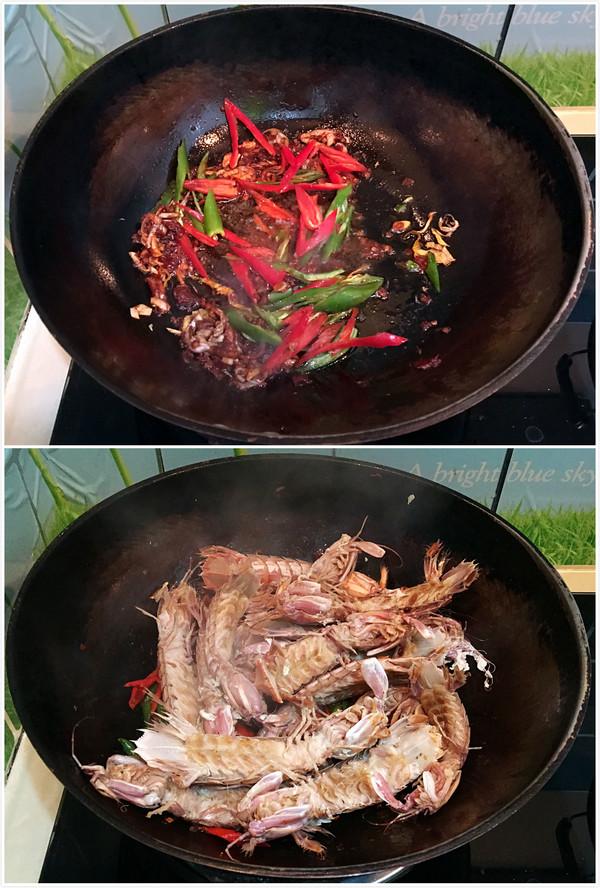香辣皮皮虾的简单做法