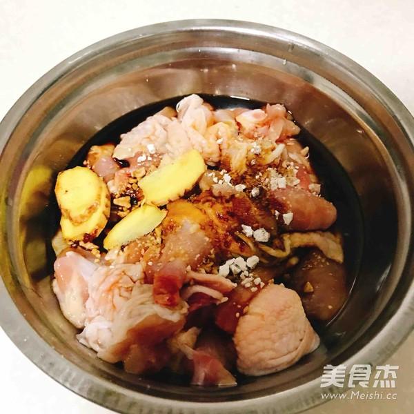 香菇蒸滑鸡的简单做法