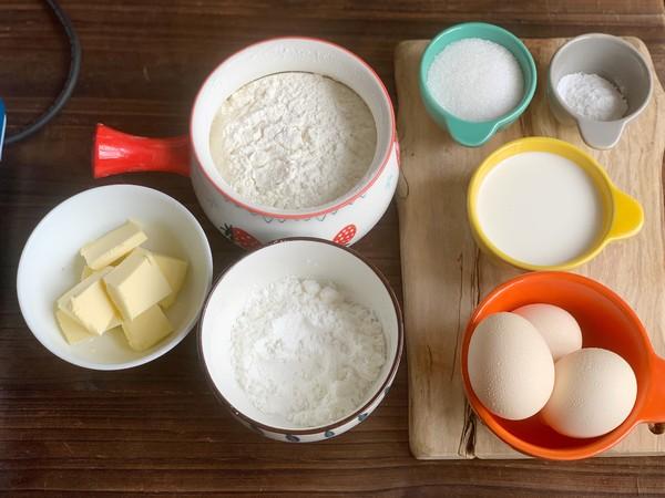 奶香华夫饼的做法大全