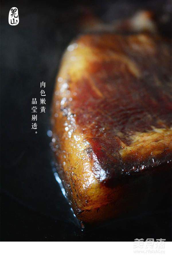 羌山老腊肉炒豌豆片的做法图解