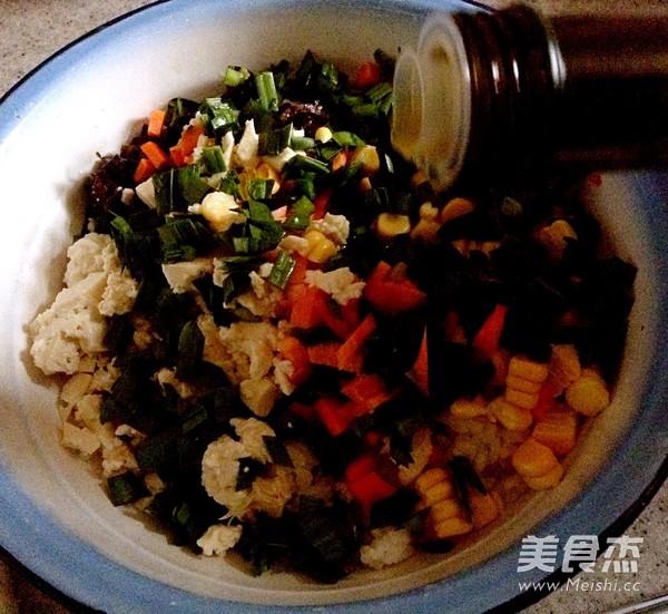 韭香黃金米饼的简单做法