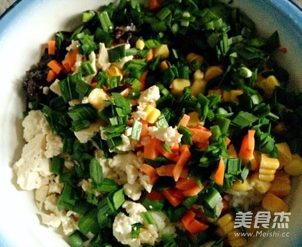 韭香黃金米饼的家常做法