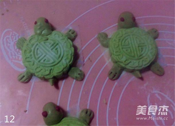 乌龟青团趣味早餐怎样做