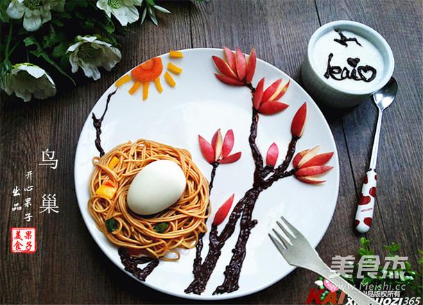 葱油面趣味童趣餐怎样煮