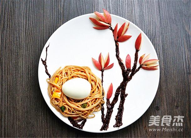 葱油面趣味童趣餐怎样炒