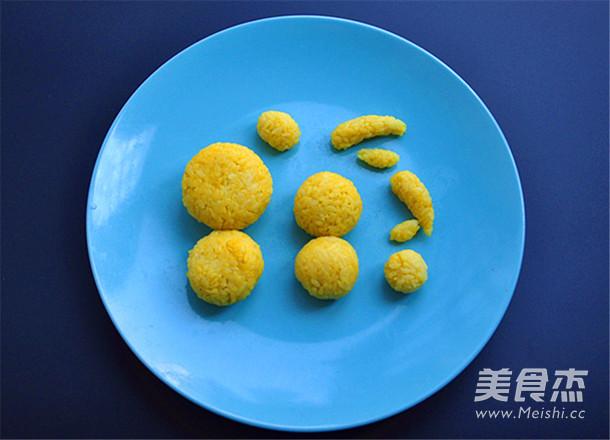 栀子花米饭趣味餐怎么炒