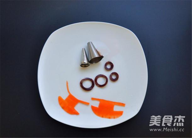栀子花小黄人饭团的简单做法