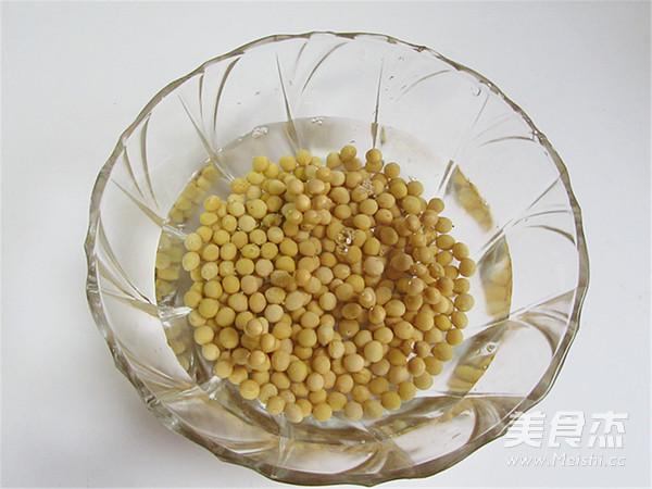 芝麻花生香浓豆浆的做法图解