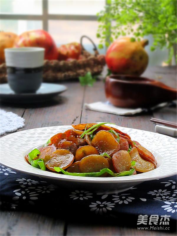 绿豆饼炒青椒怎么煮
