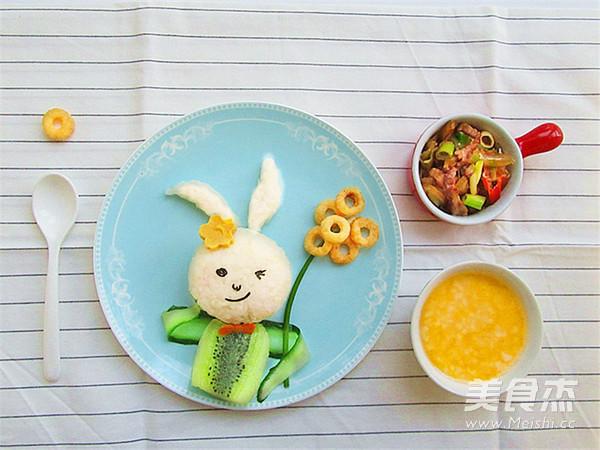 兔子趣味早餐怎么煮
