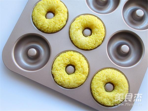 小蜜蜂甜甜圈饭团的简单做法