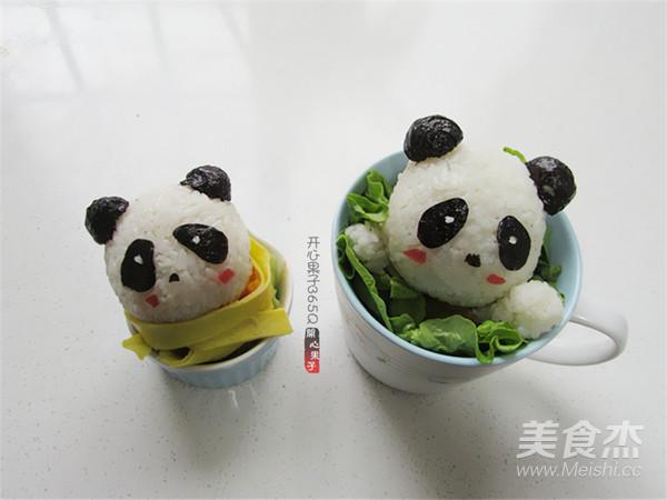 熊猫杯子儿童餐怎样煸