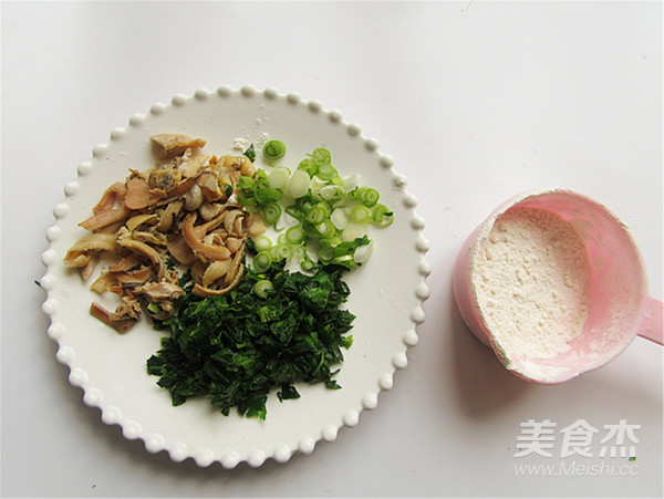 河蚌芹菜蛋羹的家常做法