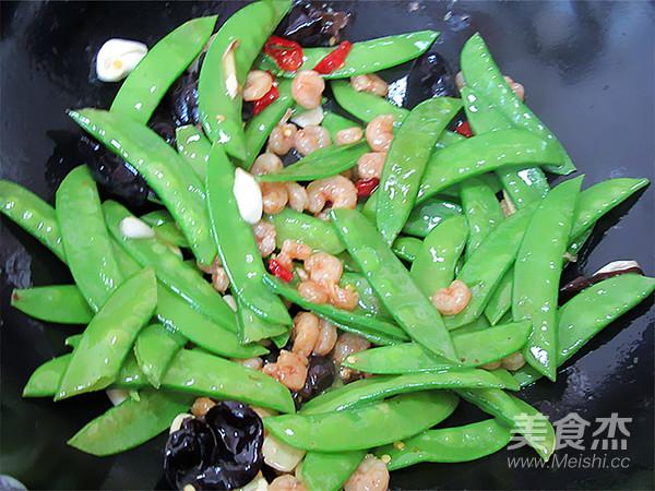 素爆虾仁荷兰豆怎么做