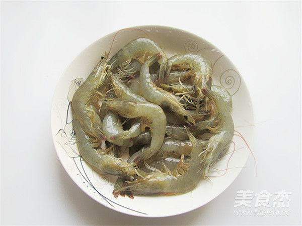 花开蒜蓉粉丝开背虾的家常做法