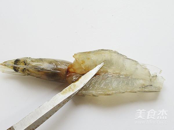 花开蒜蓉粉丝开背虾怎么做