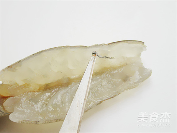 花开蒜蓉粉丝开背虾怎么炒