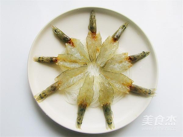 花开蒜蓉粉丝开背虾怎么煸