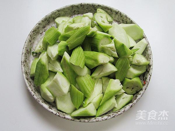 滑炒丝瓜虾仁怎么吃