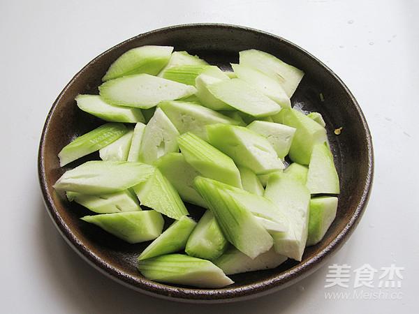 丝瓜炖豆腐的家常做法