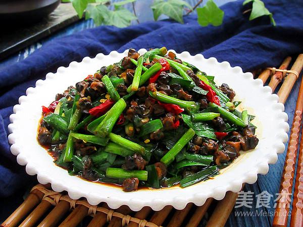 螺蛳肉炒韭菜怎样做