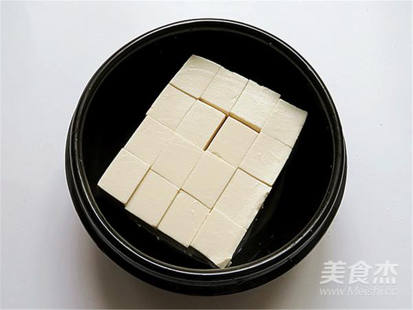 肉末蒸豆腐怎么吃