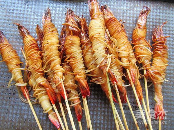 霸王超市丨金丝虾串怎样煸