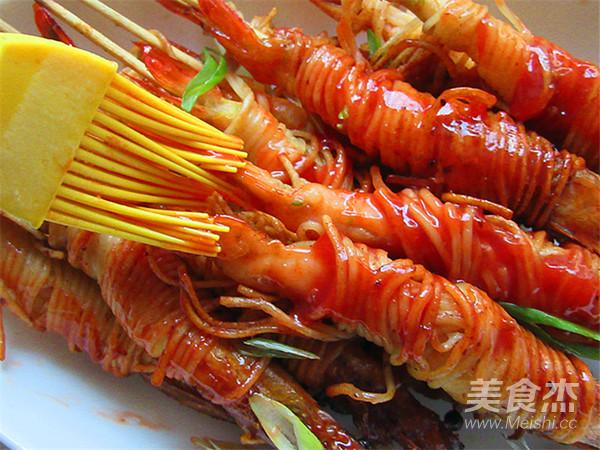 霸王超市丨金丝虾串怎样做