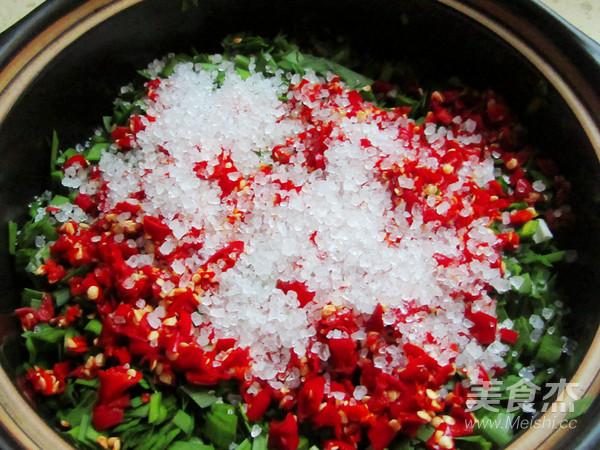 腌小咸菜韭菜花生怎么做