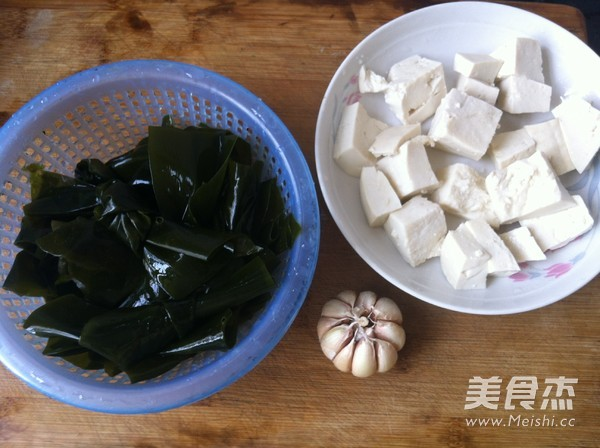 海带结豆腐汤的步骤