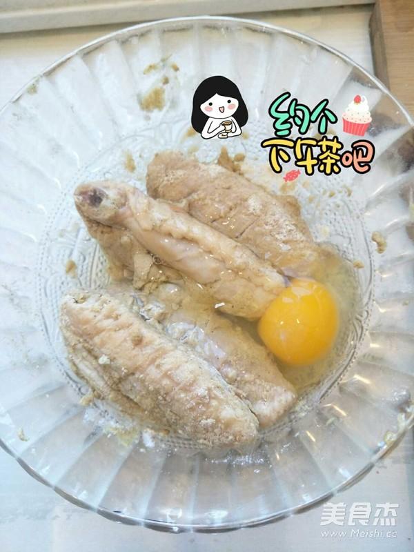 香酥鸡蛋炸鸡翅怎么吃