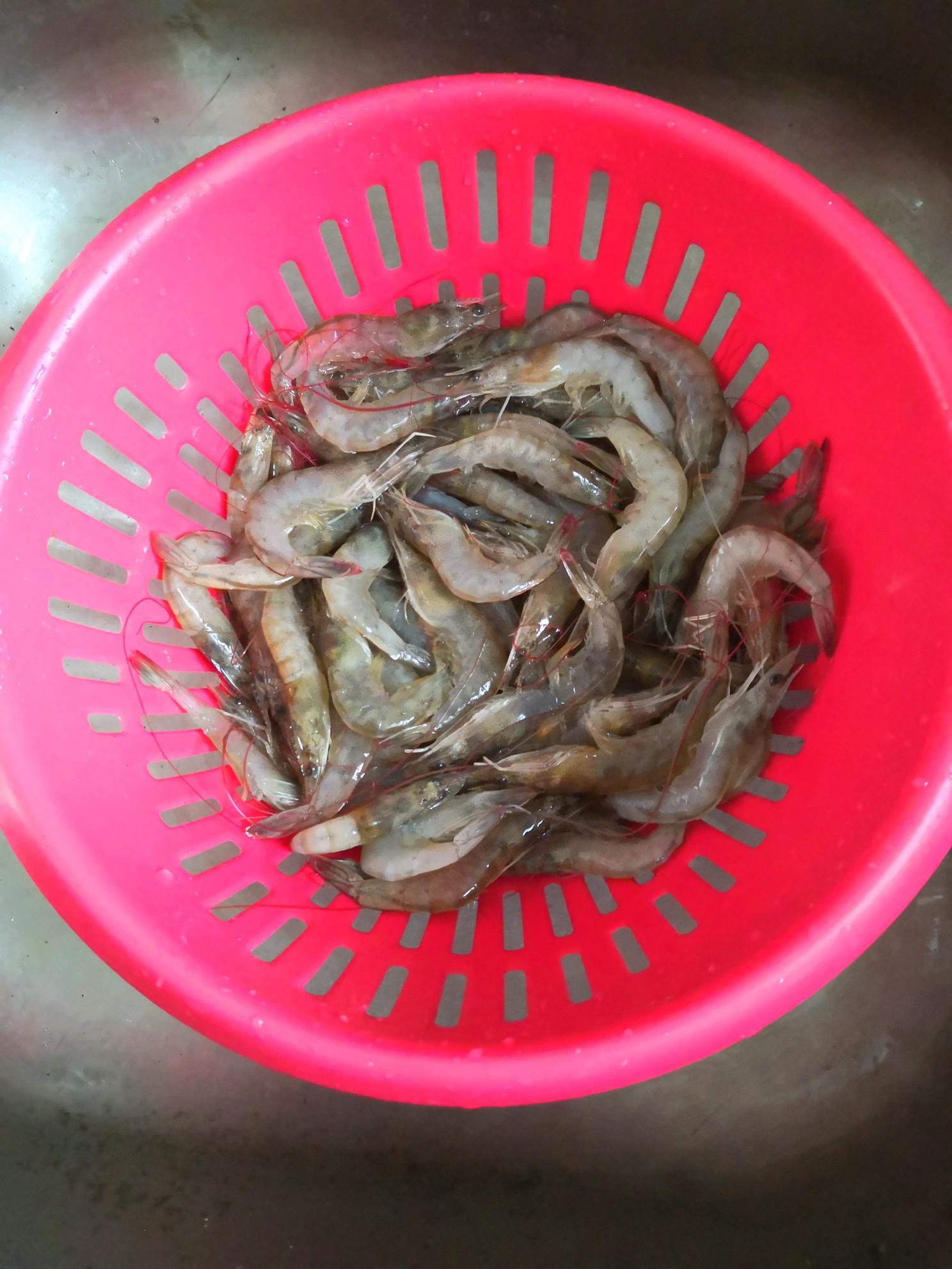 咖喱大虾的做法图解
