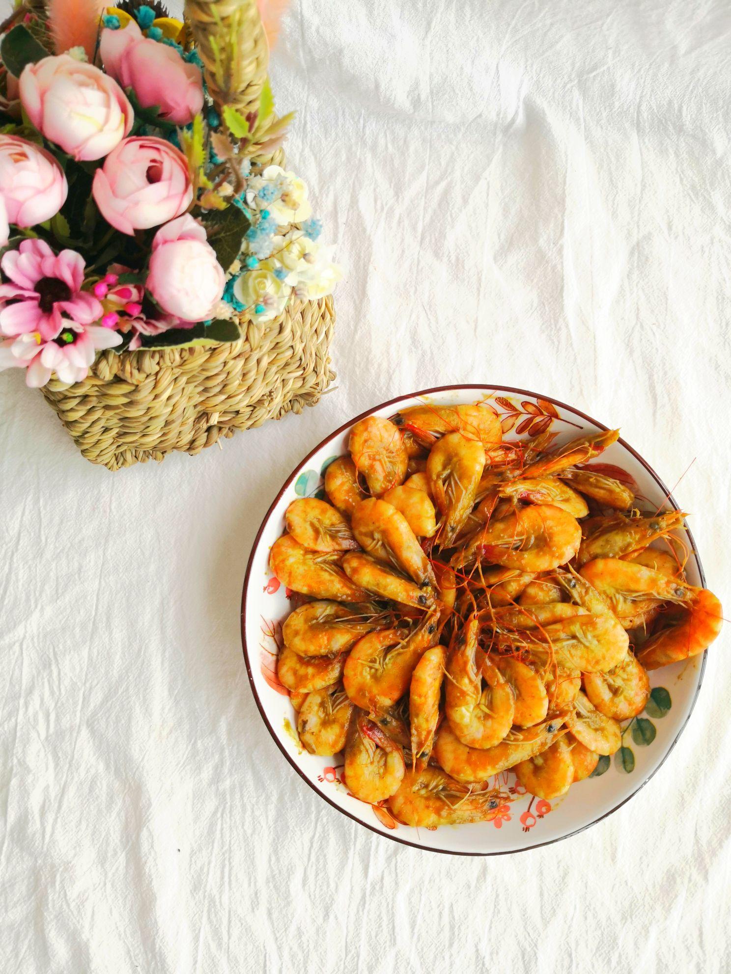 咖喱大虾怎么吃