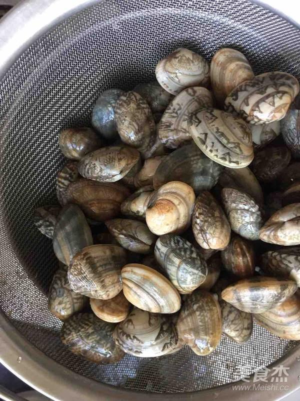 爆炒蛤蜊的做法图解