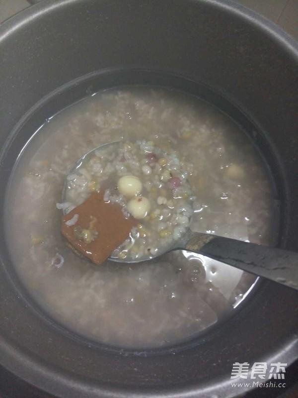 红枣莲子八宝粥的简单做法