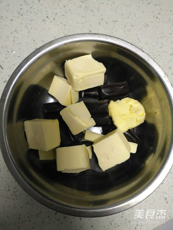 花生巧克力蛋糕的做法图解