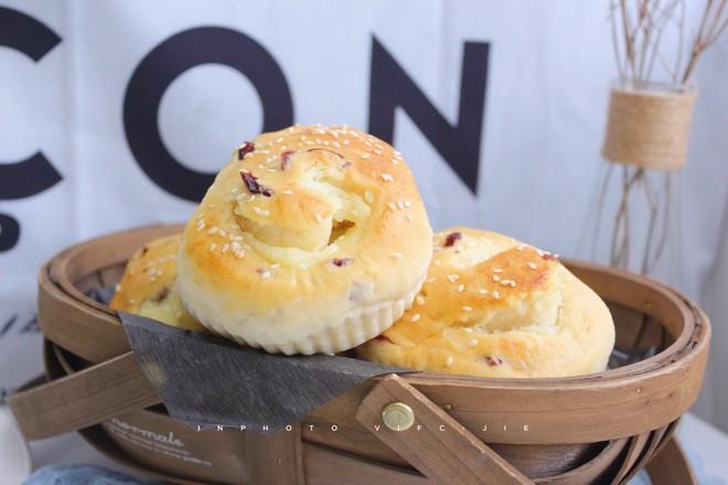 中种蔓越莓奶酪面包的做法大全