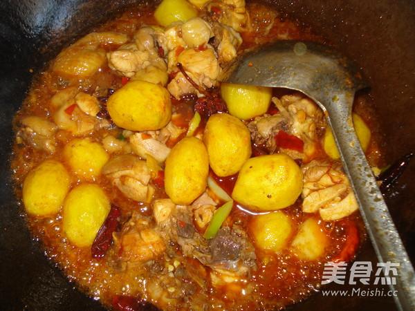 辣子鸡块土豆怎样煮