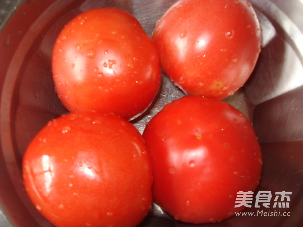 西红柿鸡蛋水饺的步骤