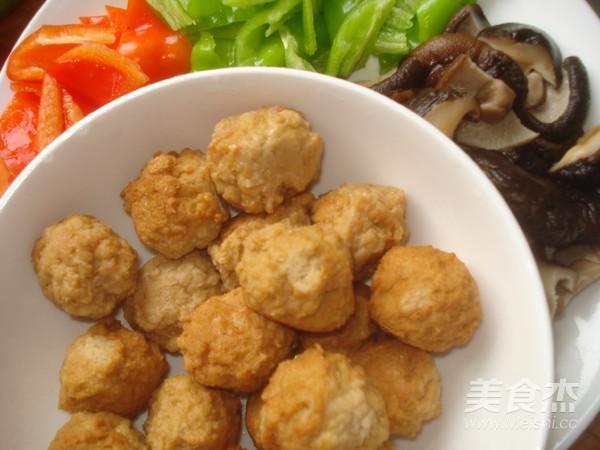 香菇豆腐丸子怎么煮