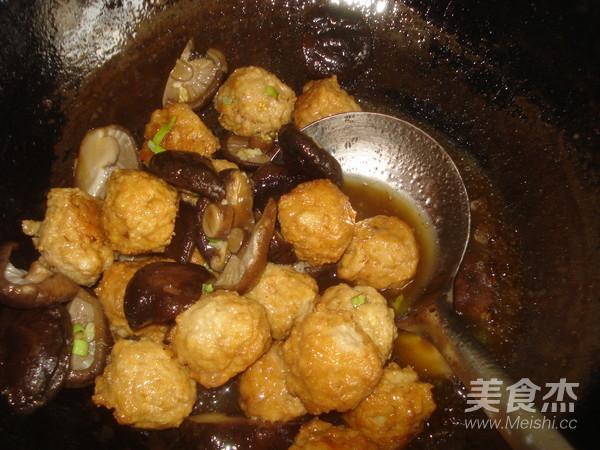 香菇豆腐丸子怎么煸